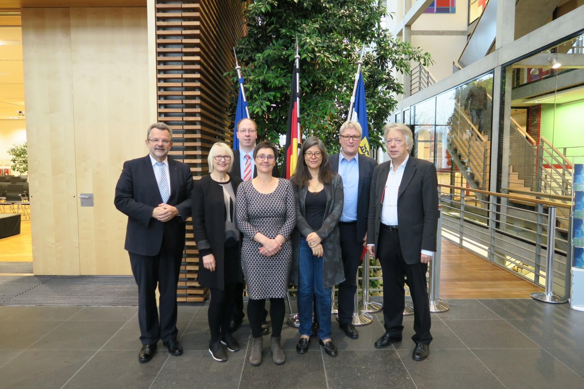 Sitzung der Landesgruppe Schleswig-Holstein der SPD-Bundestagsfraktion mit Landesfinanzministerin Monika Heinold