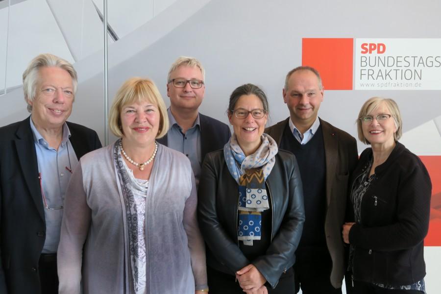 Gruppenfoto der Landesgruppe in der 19. Wahlperiode
