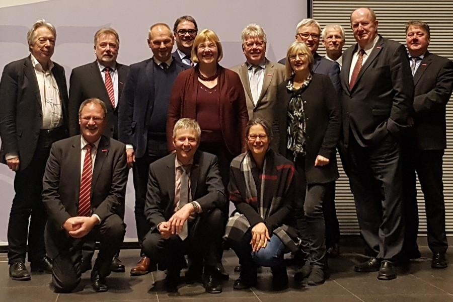 SPD-Landesgruppe Schleswig-Holstein und Vertreter des Handwerks in der Landesvertretung Schleswig-Holstein in Berlin